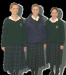 Ierse schoolmeisjes