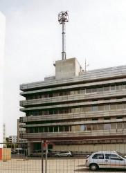 Stasi-gebouw in Berlin / Lichtenberg