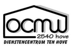 DC Ten Hove OCMW logo