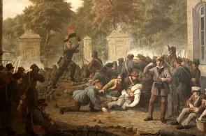 Tafereel van de revolutie – Constantin Fidèle Coene, 1830