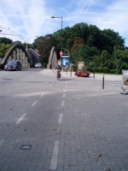 fietspad kruising Leliestraat