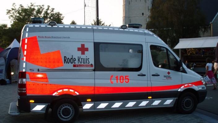 Interventiewagen Rode Kruis