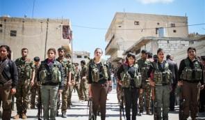 Vrouwen bij de Koerdische verdedigingseenheden