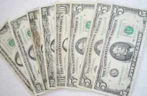 Geld dollars
